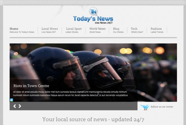 Today's News – New CMS Website