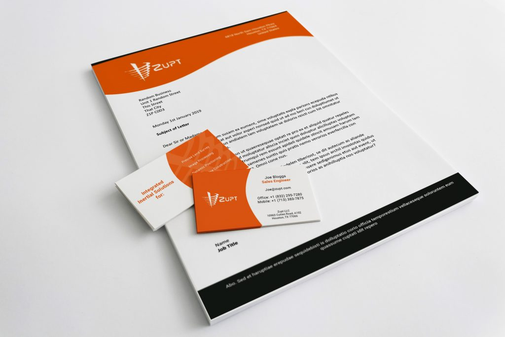 Zupt Stationary Design - Letterhead 2