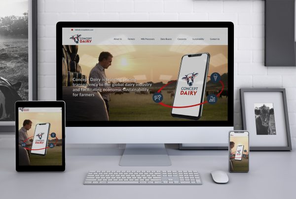 Concept Dairy Website