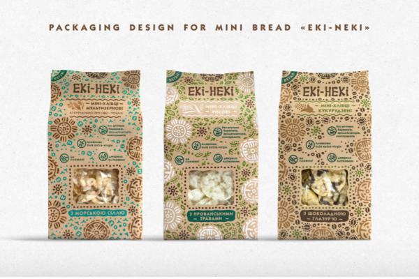 Bread Product Packaging Organic