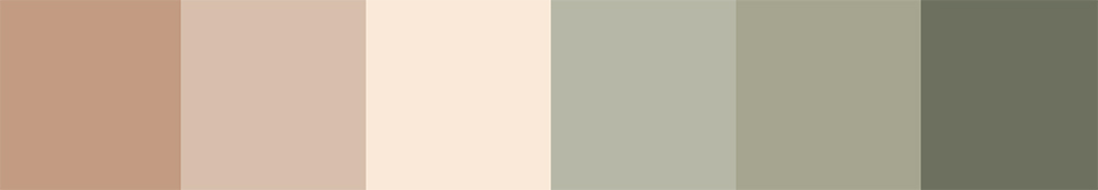 Organic Cosmetic Colour Pallet